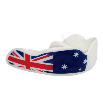 Fight Dentist mouthguard - Aussie down under
