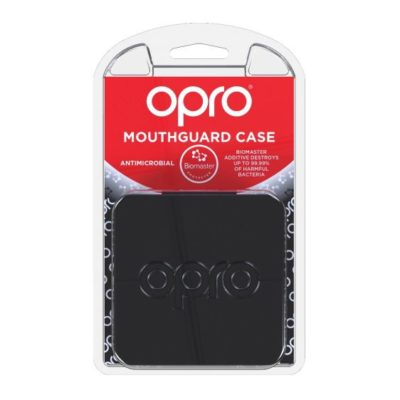 OPRO Antimicrobial Mouthguard Case - Black