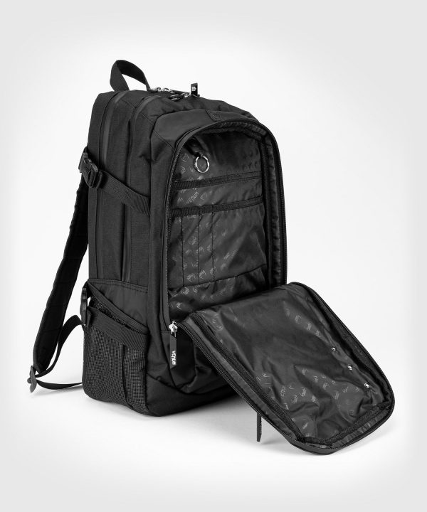 first compartment detail on Venum Challenger Pro Evo back pack