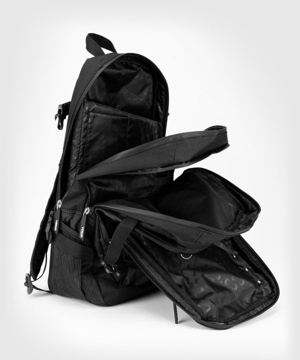 Three compartments on Venum challenger Pro backpack
