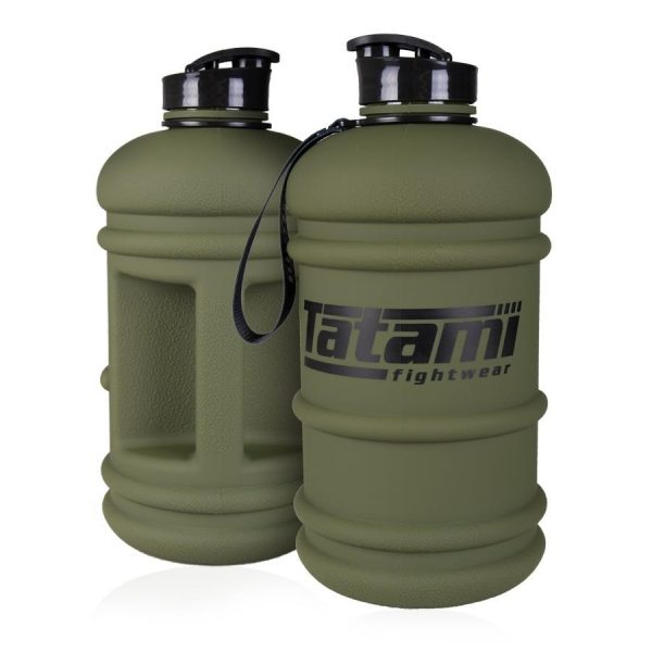 Front and back view of Tatami water bottle